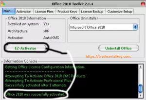 Microsoft office 2010 Activator