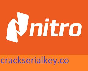 Nitro Pro 13.38.1.739 Crack + Latest Version Download 2021