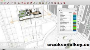 SketchUp Pro 2018 Crack + License Key Free Download [Latest]