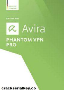 Avira Phantom VPN Pro 2.37.1 Crack + Activation Code Free Download
