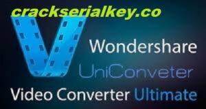 Wondershare Video Converter Ultimate 12.6.3 Serial Key Download 2021